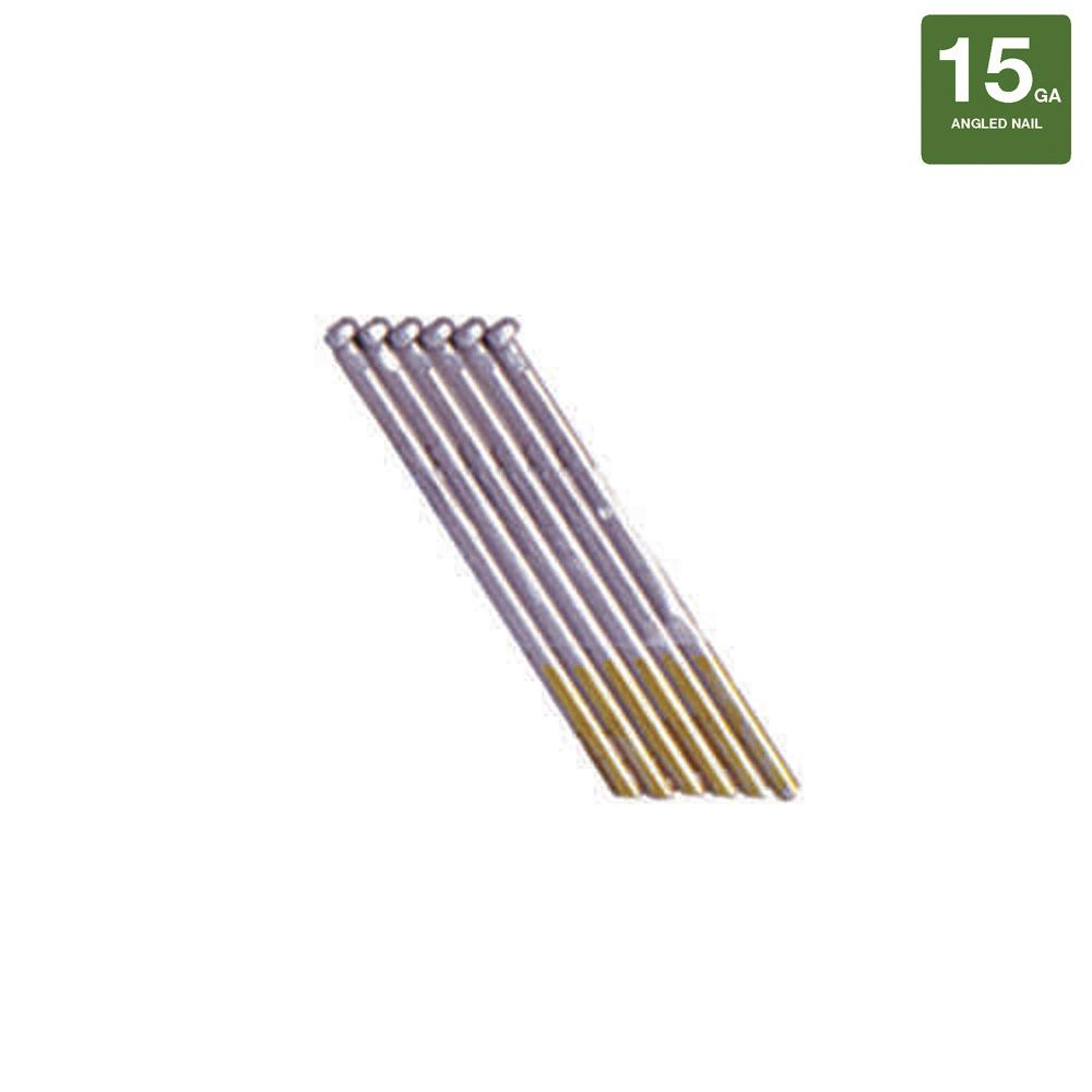 2-1/2 in. x 15-Gauge Galvanized Finish Nails (1000-Count)