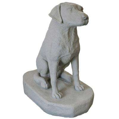 Granite Resin Labrador Statue