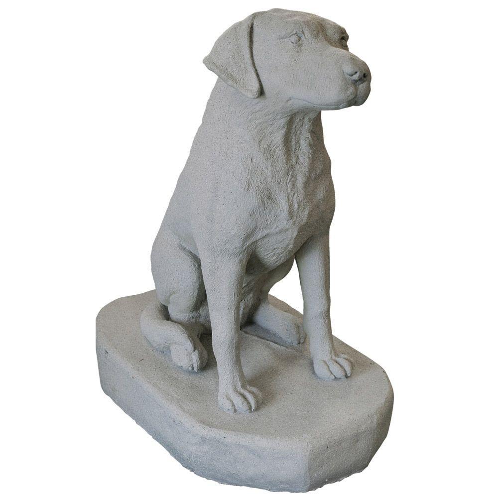 Granite Resin Labrador Statue