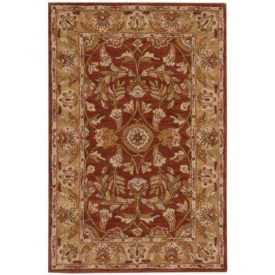 India House Rust 2 ft. x 3 ft. Accent Rug