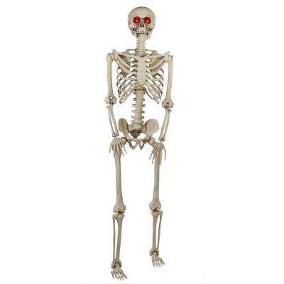 5 ft LED Pose-N-Stay Skeleton