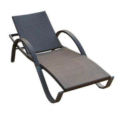 Deco Stacking Patio Lounge Chaise
