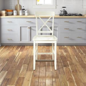 Fantastic Homestyles Nantucket White Kitchen Island With Wood Top And Uwap Interior Chair Design Uwaporg