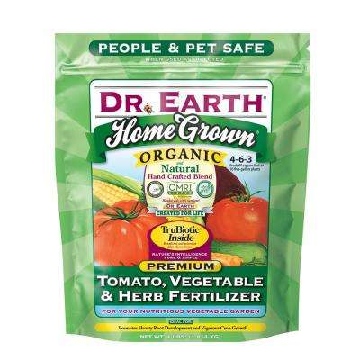 4 lb. 60 sq. ft. Home Grown Tomato, Vegetable and Herb Dry Fertilizer