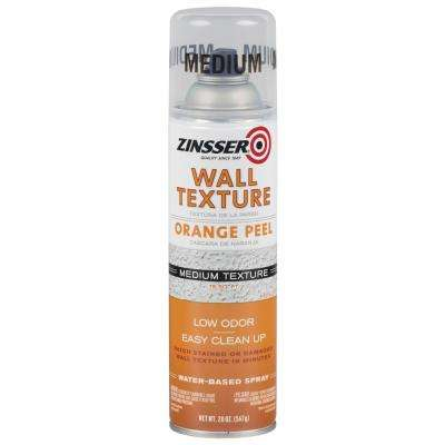 20 oz. Wall Texture Medium Water-Based Orange Peel Spray Paint (6-Pack)