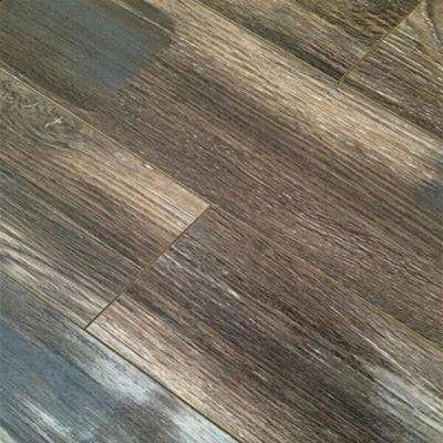 Show Shade Oak 12 mm Thick x 4.96 in. Wide x 48 in. Length Click-Locking Laminate Flooring Plank (16.48 sq. ft. / case)