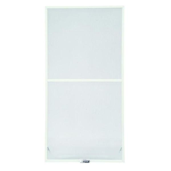 31-7/8 in. x 46-27/32 in., White Aluminum Insect Screen, For 400 Series & 200 Series Narroline Double-Hung Windows