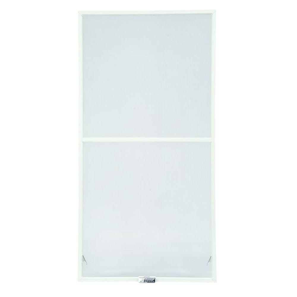 Andersen 31-7/8 in. x 46-27/32 in., White Aluminum Insect Screen, For 400 Series & 200 Series Narroline Double-Hung Windows
