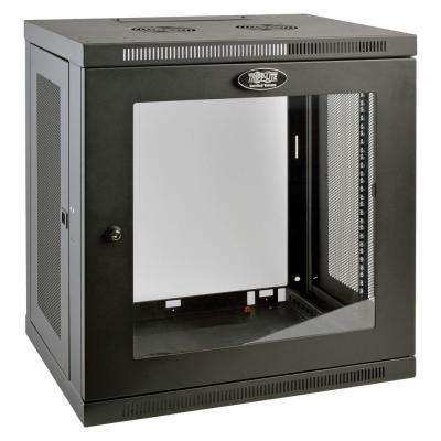 SmartRack 12-Unit Low-Profile Wall Rack Enclosure Cabinet