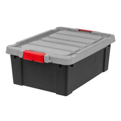 10 Gal. Store-It-All Storage Bin in Black