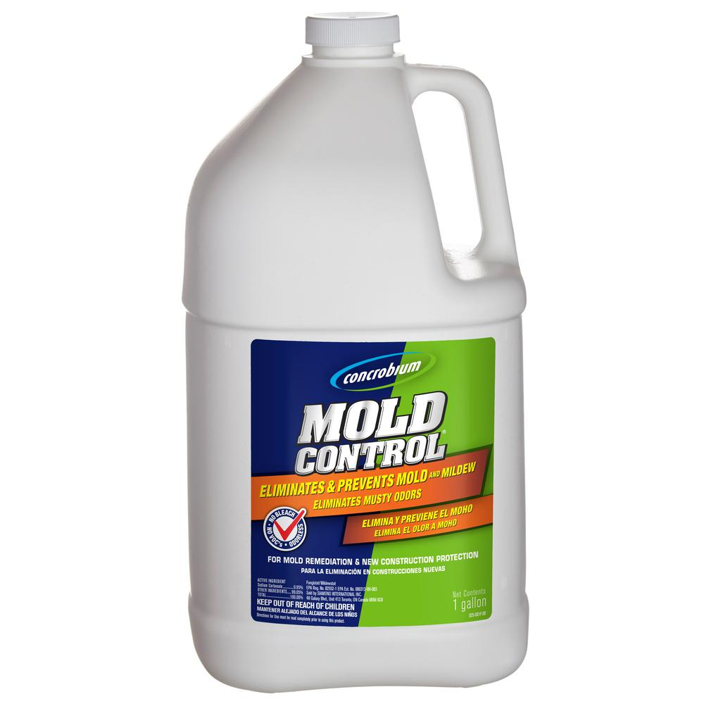 Concrobium Gal Mold Control Jug The Home Depot - Best product for shower mold
