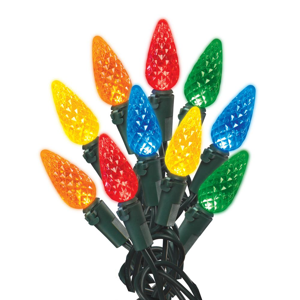 Home Accents Holiday Christmas Lights 150 C6 Multi Color