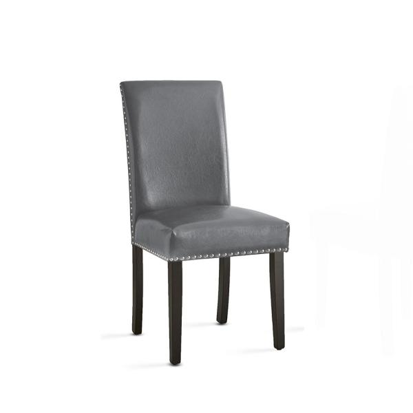 Verano Contemporary Gray Side Chair  (Set of 2)