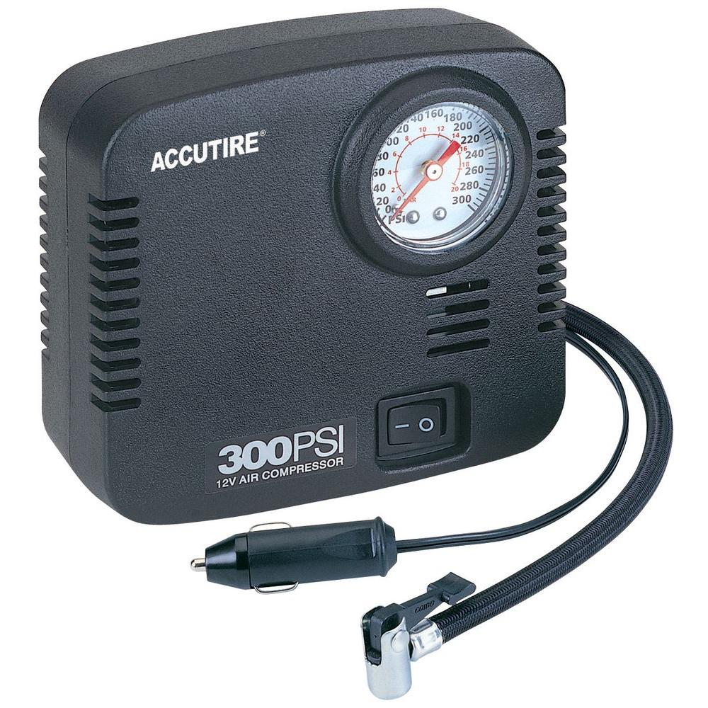 null Accutire 10 ft. cord Compact 300 psi 12-Volt Compressor