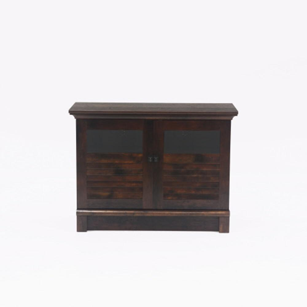 Sauder Harbor View Curado Cherry Tv Accent Cabinet With Doors 422398