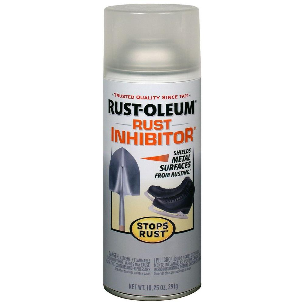 rust oleum stops rust oz clear rust inhibitor spray