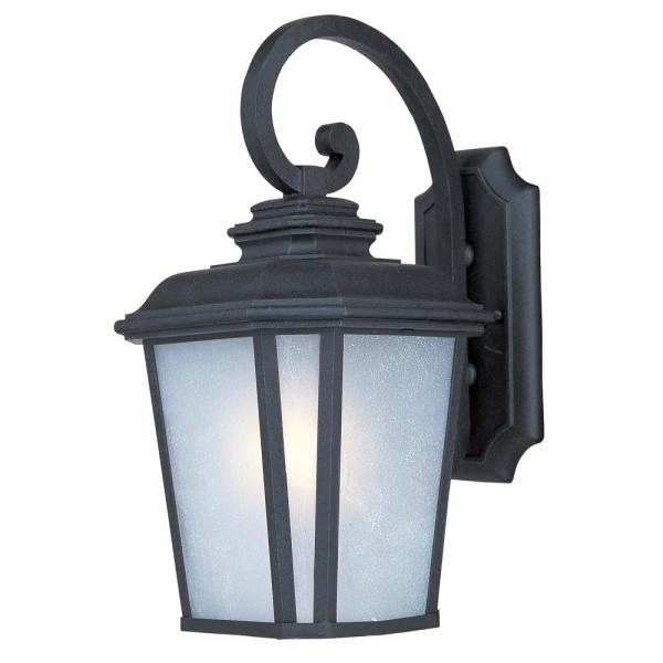 Radcliffe 9 in. W 1-Light Black Oxide Outdoor Wall Lantern Sconce