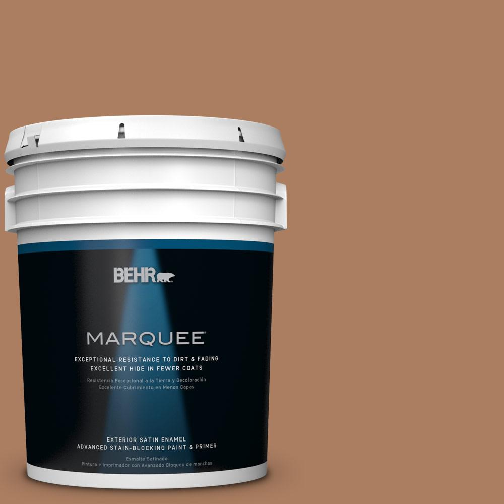 5-gal. #S230-6 Burnt Toffee Satin Enamel Exterior Paint