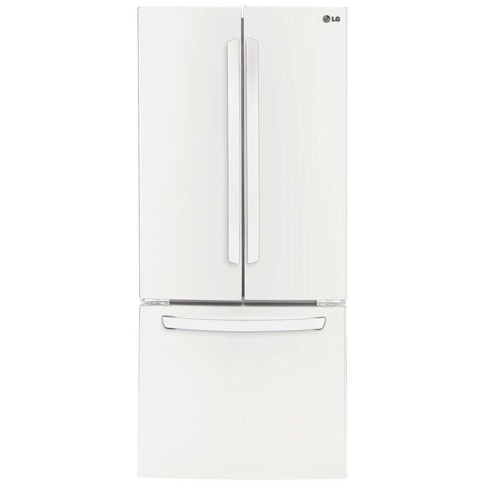 French Door lg 30 french door refrigerator pictures : LG Electronics 30 in. W 21.8 cu. ft. French Door Refrigerator in ...
