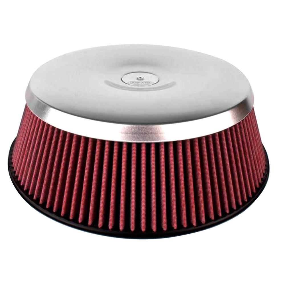 Concept II 4in Carburetor Filter Assembly - Dry / Red Media