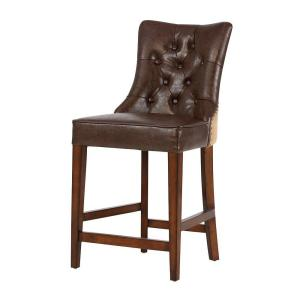 Internet #206799176. Home Decorators Collection Rebecca 39 in. Brown Cushioned Counter Stool  sc 1 st  The Home Depot & Home Decorators Collection Rebecca 39 in. Brown Cushioned Counter ... islam-shia.org