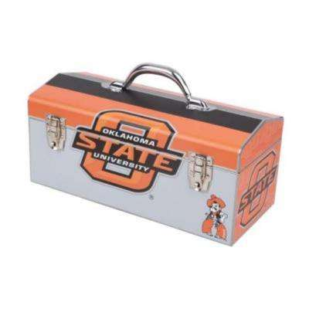 16 in. Oklahoma State University Art Tool Box