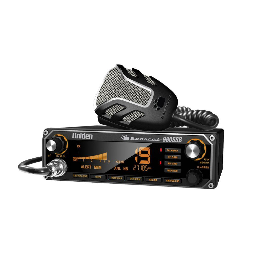 Uniden CB Radio with SSB-Bearcat 980 SSB - The Home Depot