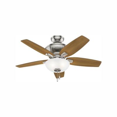 Kenbridge 42 in. LED Indoor Brushed Nickel Ceiling Fan