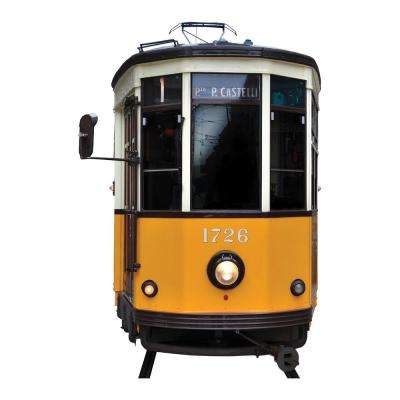 110.2 in. x 39.4 in. Tram Wall Decal