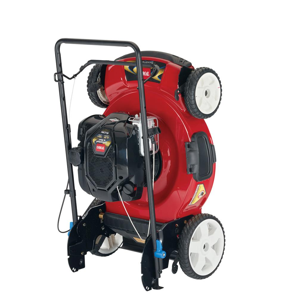 Toro Recycler 22 in. SmartStow Briggs and Stratton High Wheel Gas Walk Behind Push Mower