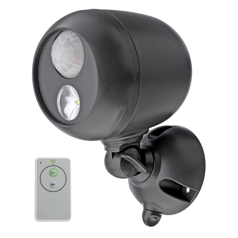 Mr Beams Wireless 120 Bronze Motion Activated Outdoor Integrated Led Sensing Security Flood Light With