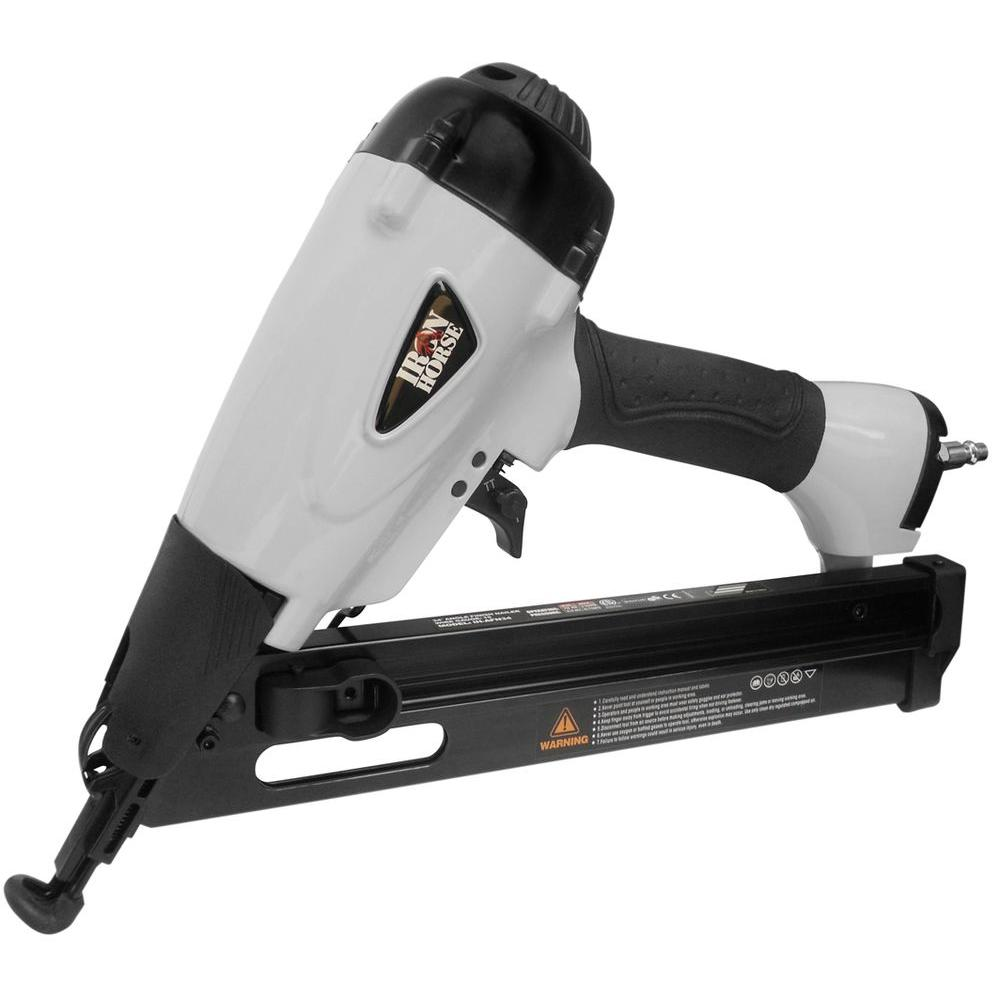 Iron Horse 2-1/2 in. 34 Degree Angle Nailer with Case