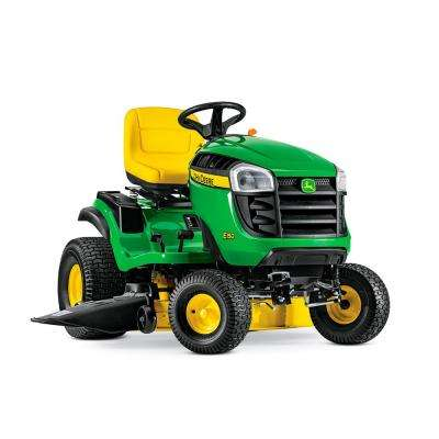 E150 48 in. 22 HP V-Twin Gas Hydrostatic Lawn Tractor -California Compliant