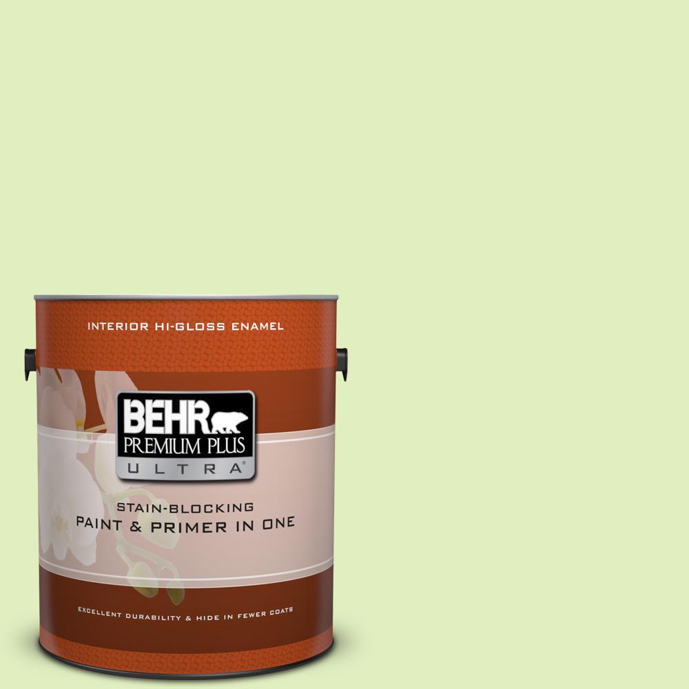 1 gal. #420A-2 Spirit Whisper Hi-Gloss Enamel Interior Paint
