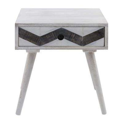 Yosemite Home Decor End Table White End Tables Accent Tables