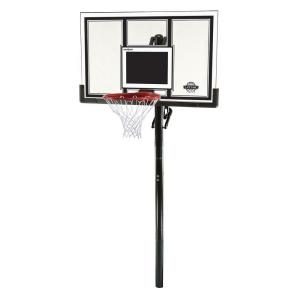 Lifetime 54 inch Shatter Guard Power Lift In-Ground Basketball System by Lifetime