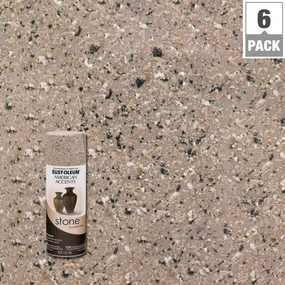 Rust Oleum American Accents 12 oz Stone Pebble Textured Spray Paint