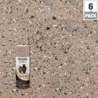 12 oz. Stone Creations Pebble Textured Finish Spray Paint (6-Pack)