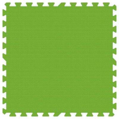 Lime Green 24 in. x 24 in. Comfortable Mat (100 sq.ft. / Case)