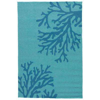 Seaport 5 ft. x 8 ft. Abstract Indoor/Outdoor Area Rug
