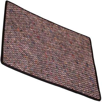 16 in. x 18 in. Drip Berm Mat in Gray with Grid and Trim