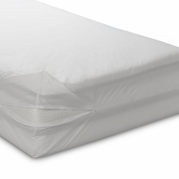 BedCare All-Cotton Allergy 12 in. Deep King Mattress Cover 101S-7880