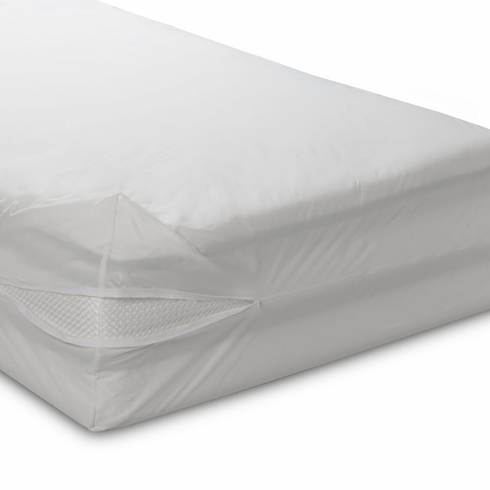 Very Helpful Crib Mattress Pad BedCare Classic Allergen Polyester 6 in. Deep Crib Mattress Cover