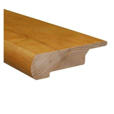 Maple/Birch Natural 0.81 Thick x 3 in. Wide x 78 in. Length Hardwood Lipover Stair Nose Molding