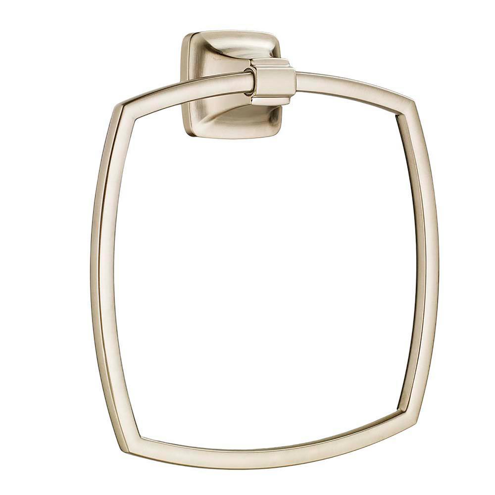 American Standard Townsend Towel Ring In Brushed Nickel