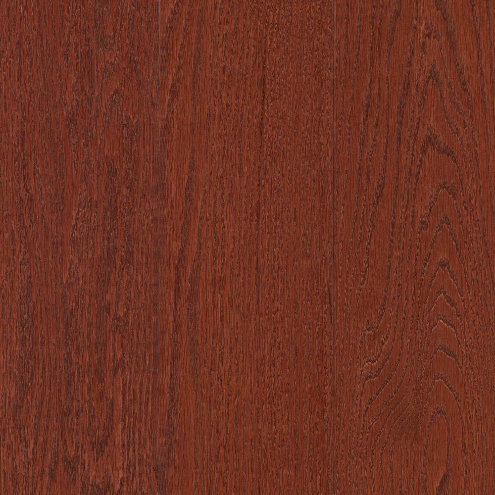 Mohawk raymore oak cherry 3 4 in thick x 5 in wide x for Mohawk hardwood flooring
