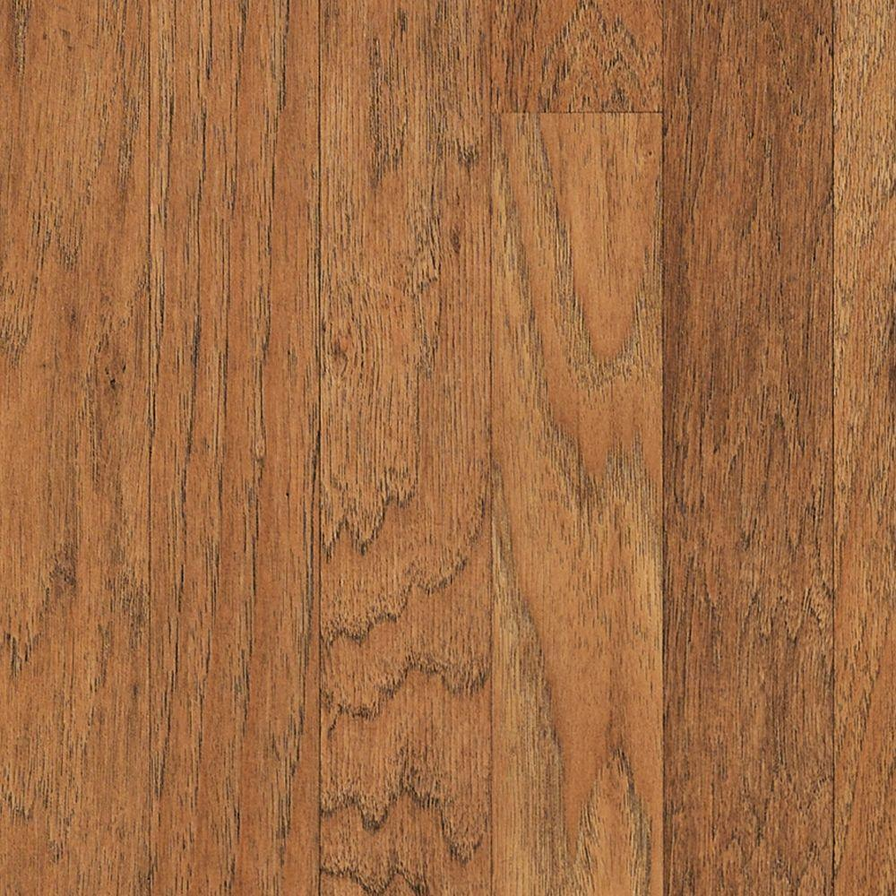 Mohawk Fairview Suede Hickory Laminate Flooring 5 In X