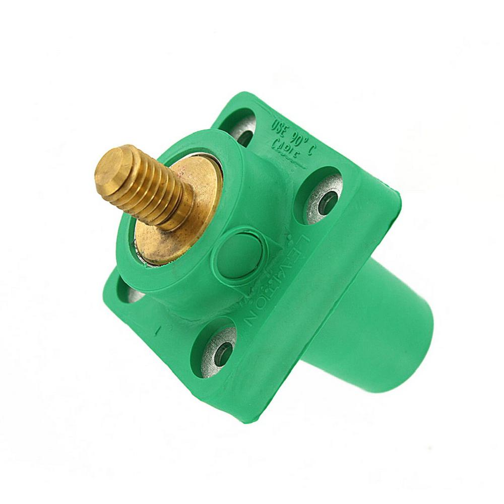 Leviton 300 Amp 16-Series Taper Nose Male Plug Contact an...