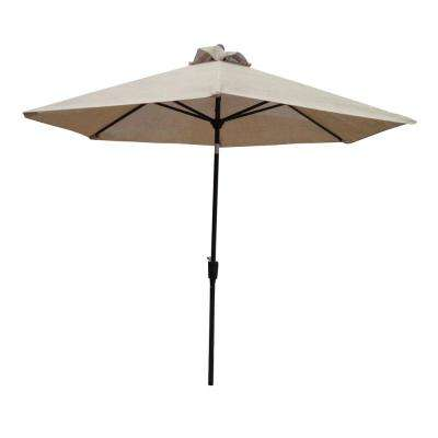 Bali 8 ft. Patio Umbrella in Cream