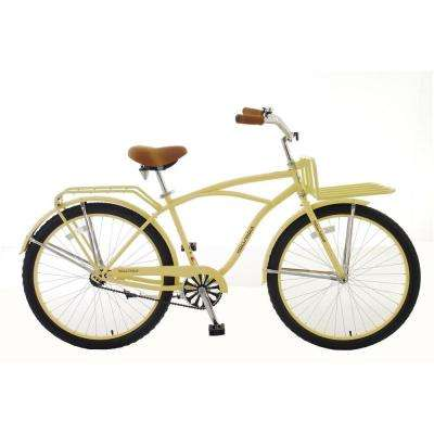 Holiday M1 Cruiser Bicycle, 26 in. Wheels, 18 in. Frame, Men's Bike in Ivory
